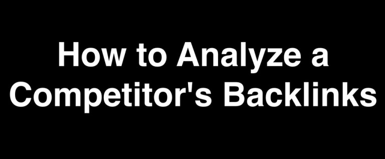 Deeper Prospecting with Backlink Analysis