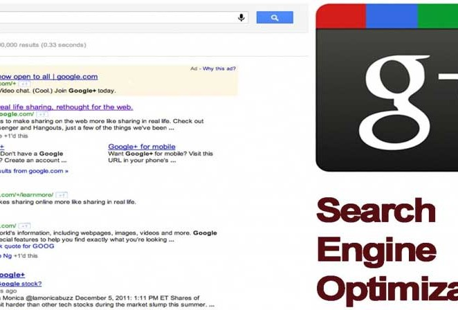 SEO Optimization by Google Plus