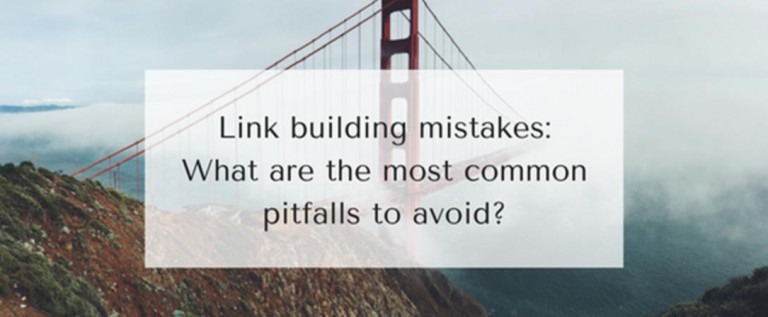 5 Common Link Building Mistakes